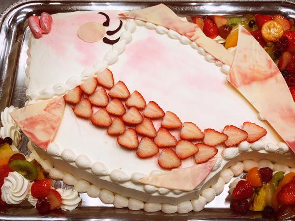 ウエディングケーキ 10 、鯛