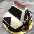 立体ケーキ3、パトカーの画像1