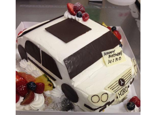 立体ケーキ2、車