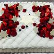 ウエディングケーキ 1、生デコいちごの画像6