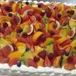ウエディングケーキ2、生デコフルーツの画像1
