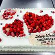 ウエディングケーキ 1、生デコいちごの画像4