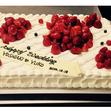 ウエディングケーキ 1、生デコいちごの画像5