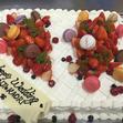 ウエディングケーキ 1、生デコいちごの画像3