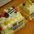 立体ケーキ1、新幹線の画像1