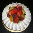 生デコレーションケーキ18cmの画像1