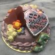 その他の特注ケーキ6、ハートの画像1