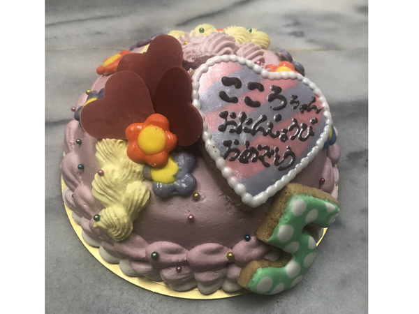 その他の特注ケーキ6、ハート