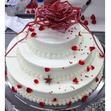 ウエディングケーキ 7、3段の画像3