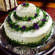 ウエディングケーキ 7、3段の画像2