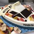 船の立体ケーキの画像1