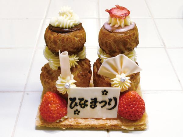ルリジューズのひなケーキ
